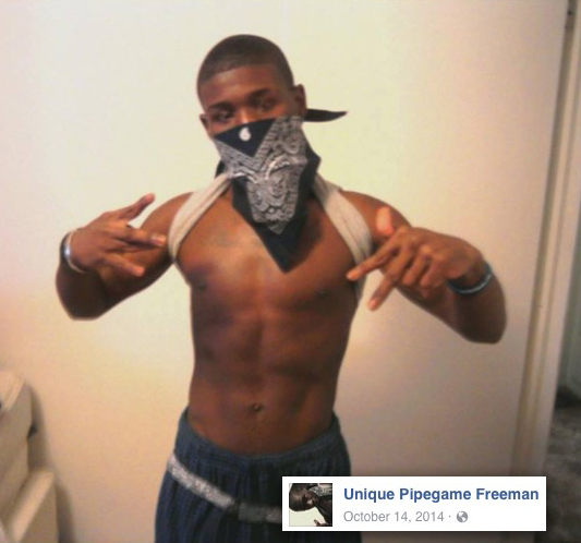 Freeman as posted publicly to Facebook in 2014.