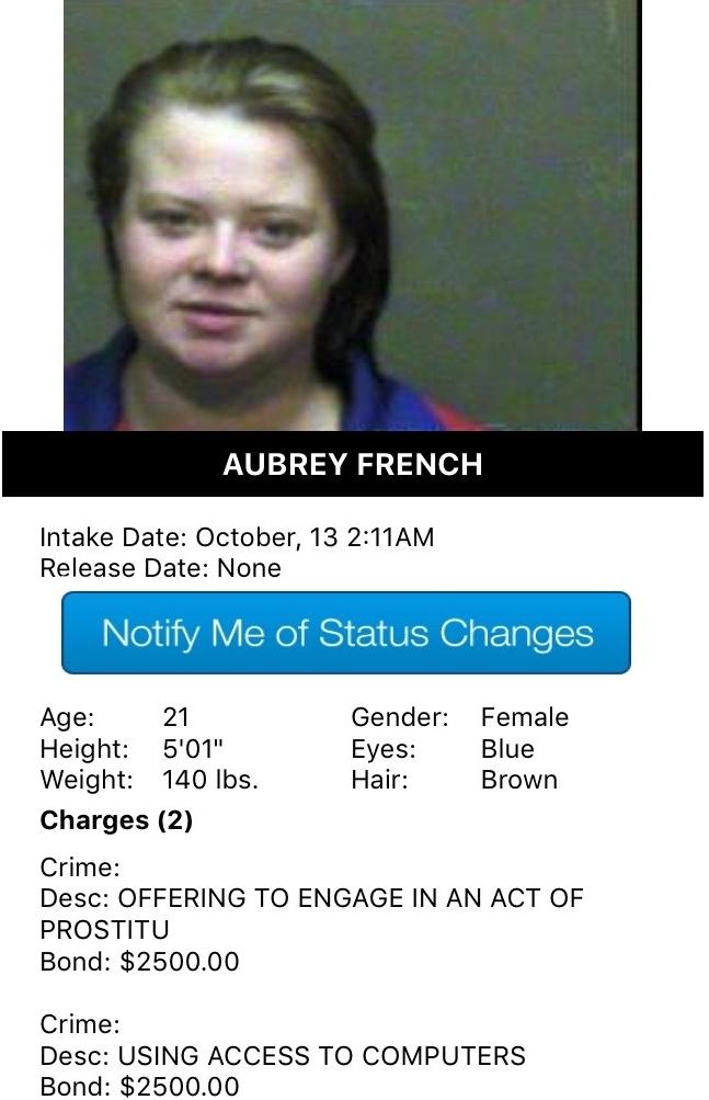 Aubrey French Mugshot Prostitute 2016-10-13.jpg