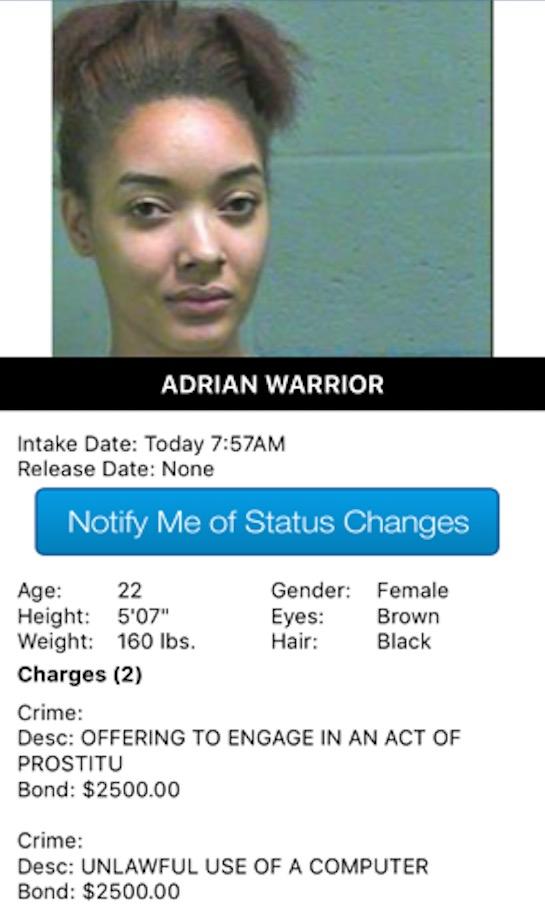 Warrior Adrian Mugshot Prostitute 2017-10-13-2017.jpg