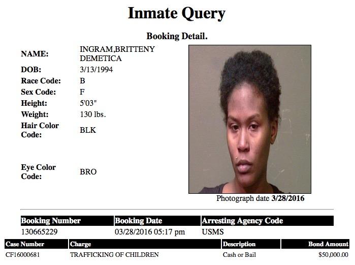 Ingram Britteny Mugshot Pimp Trafficker 2016-03-28.jpg