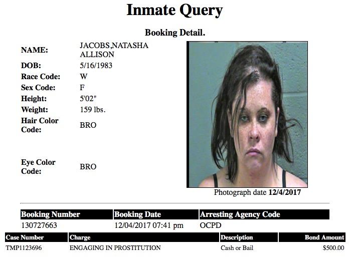 Jacobs Natasha Allison Mugshot Prostitute 2017-12-04.jpg