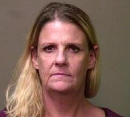 Laura Begley prostitution mugshot.