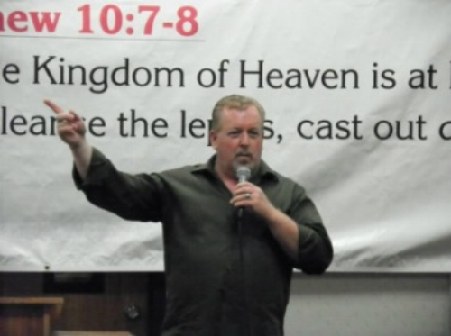 Reverend Walt Brazington Jr. as posted in Dec. 2017 to his website.