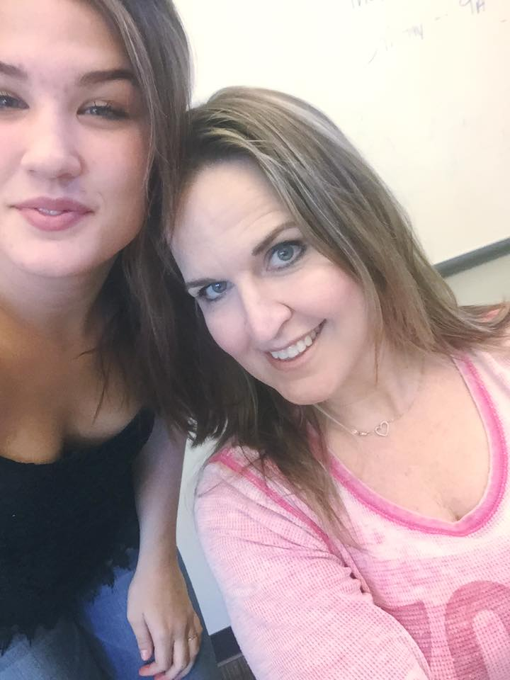 Mikayla Mitchell and her mother Jennifer Diamond as publicly posted to Facebook.