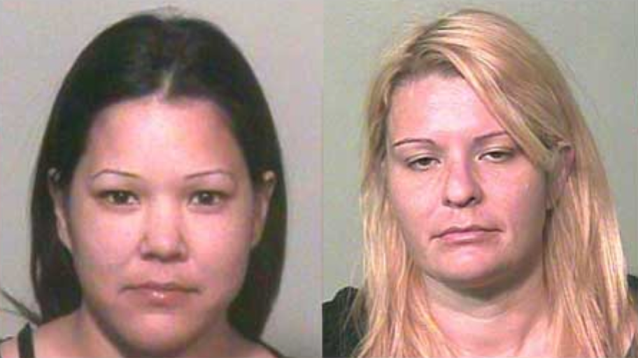 Christian Byler (Coulter's 'Bottom Bitch') and Elizabeth Andrade. Oklahoma County Jail.