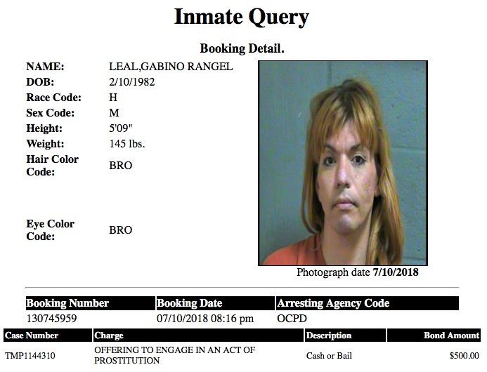 Leal Gabino Rangel Mugshot Prostitute 2018-07-10.jpg