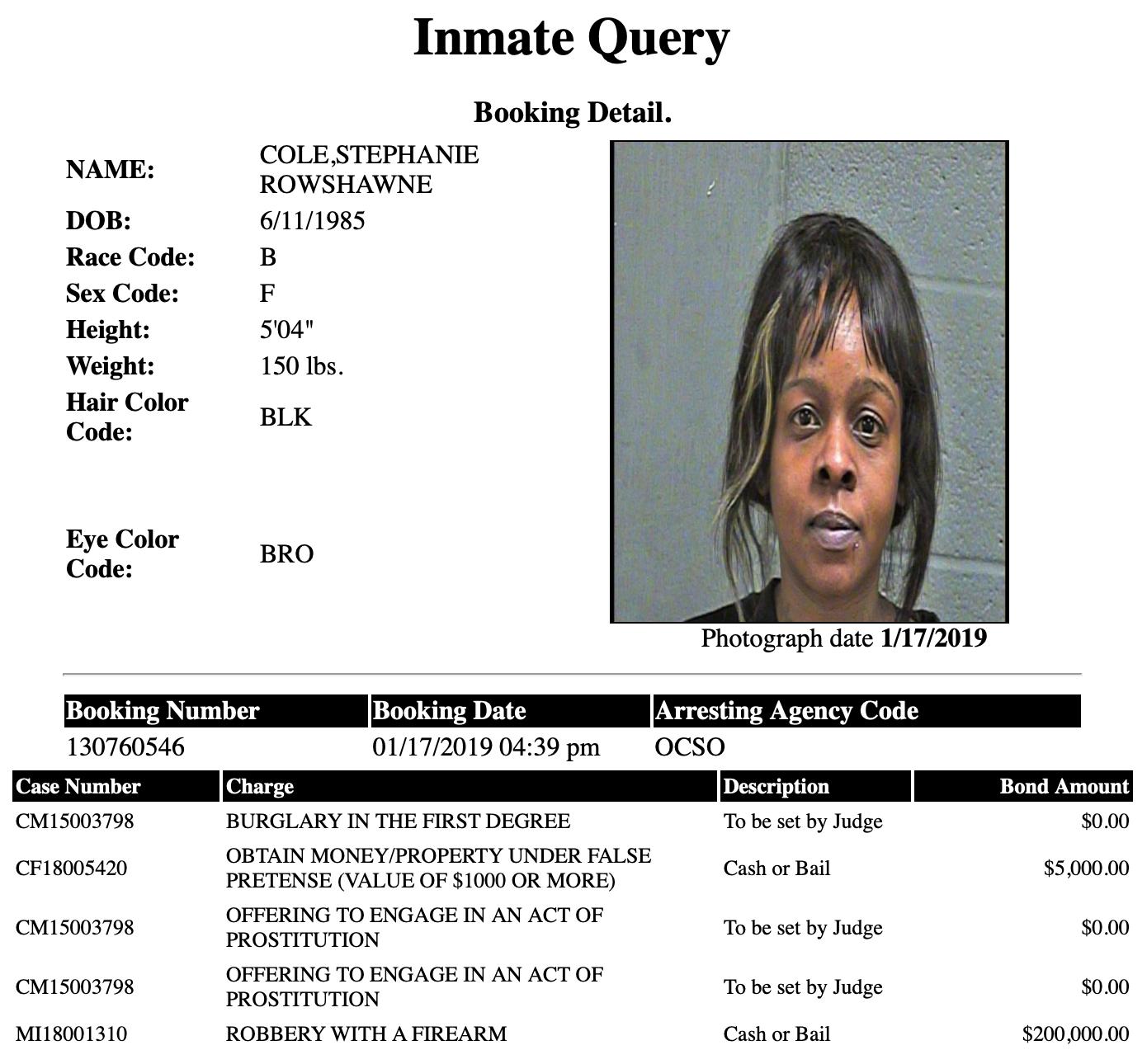 Cole Stephanie Rowshawne Mugshot Prostitute 2019-01-17.png