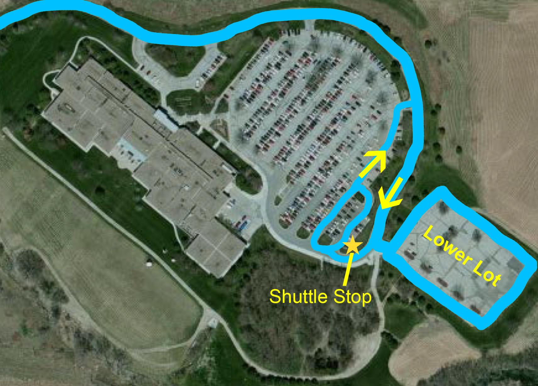 EVC Shuttle Event  Parking Map 2019 .jpg