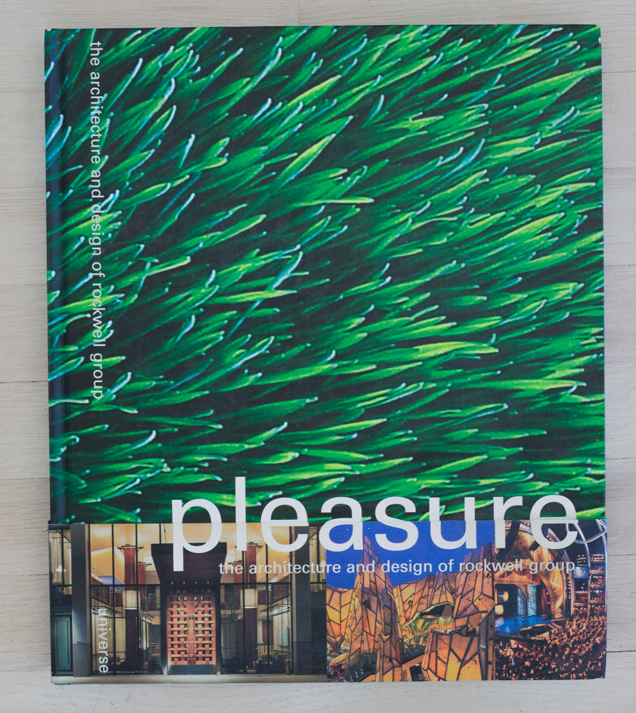 Pleasure: The Architecture and Design of Rockwell Group  with essays by Chee Pearlman; Kurt Andersen; Paul Goldberger; Paola Antonelli; Michael Bierut, Todd Oldham, et al. Project Director, Marc Hacker. Edited by Richard Olsen. Editorial Coordinator, Chris Steighner. Opto Design, Graphic Designer. Universe Publishing.