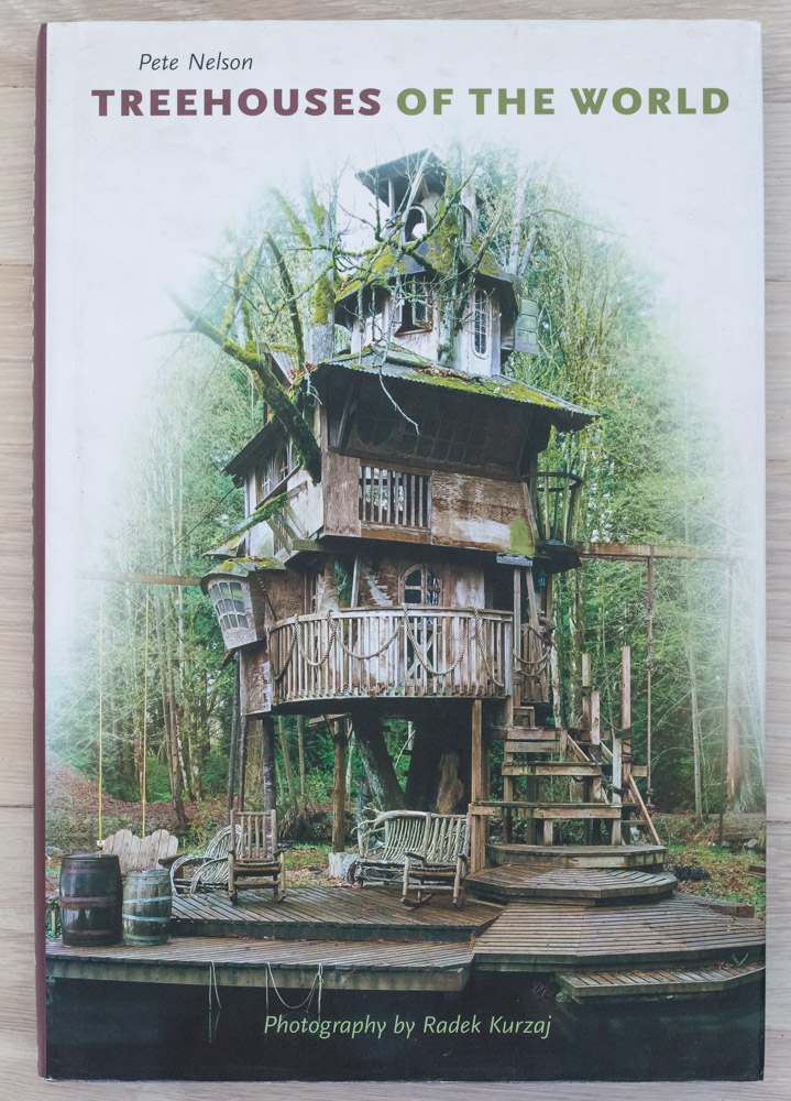 Treehouses of the World  by Pete Nelson and Radek Kurzaj. Editorial Concept Development, Project Management, and Editing by Richard Olsen. Robert McKee, Graphic Design. Jane Searle, Production Manager. Harry N. Abrams, Inc., Publishers.