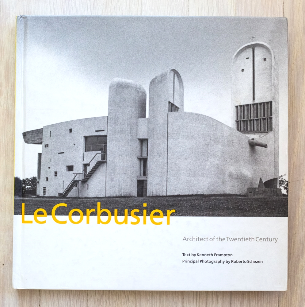 Le Corbusier: Architect of the Century  by Kenneth Frampton and Roberto Schezen. Acquisition Editor, Diana Murphy. Edited by Richard Olsen. Judy Hudson, Graphic Design. Alyn Evans, Production Manager. Harry N. Abrams, Inc., Publishers.
