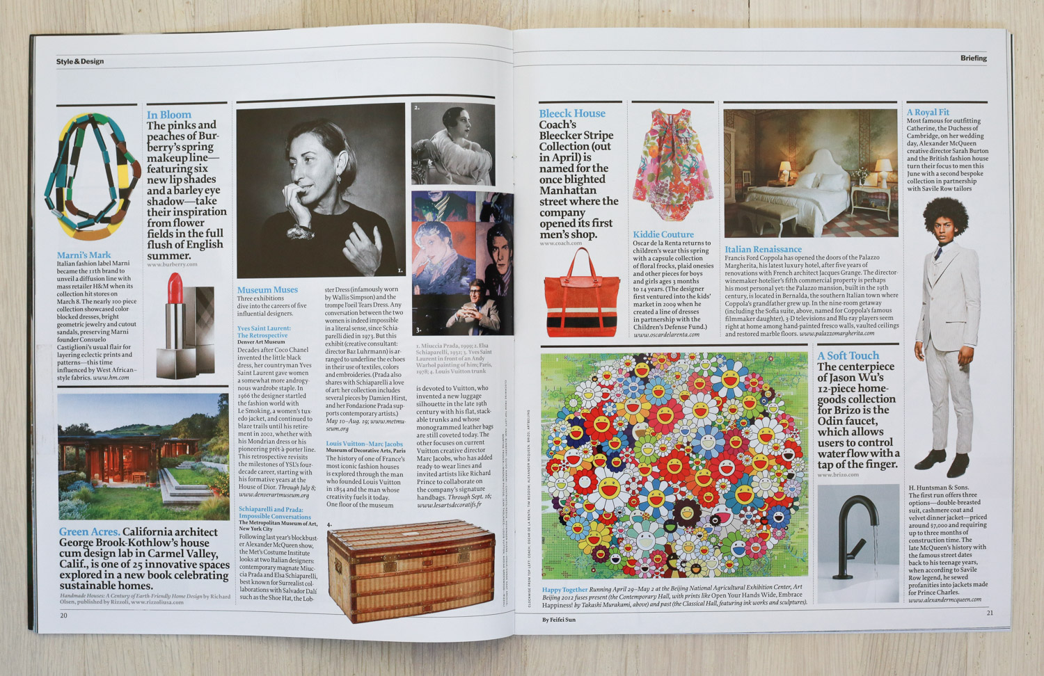 Handmade Houses   in   Time Style & Design  , Spring 2012.