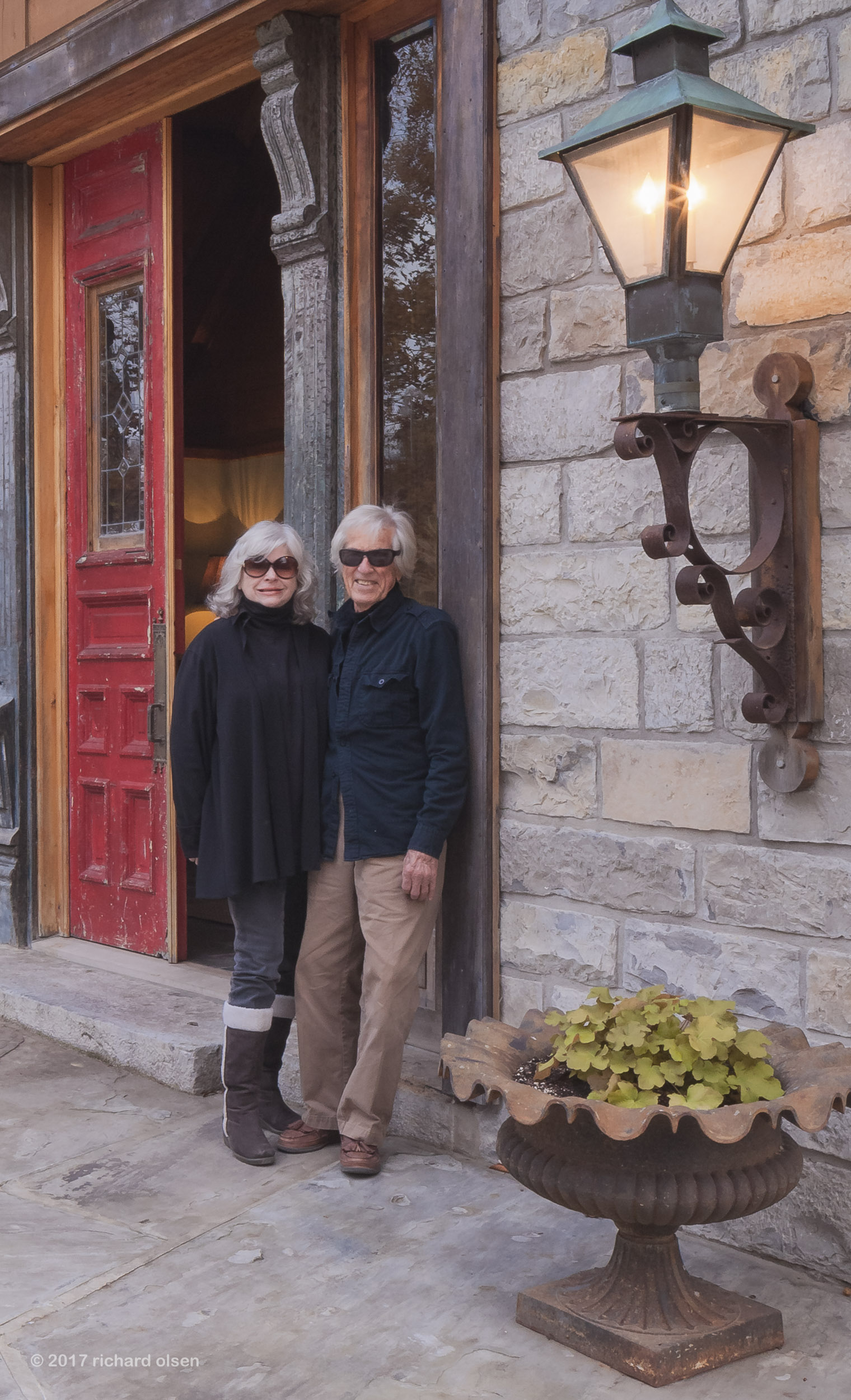 architect and masterbuilder braxton dixon with wife maryanna dixon. tennessee.