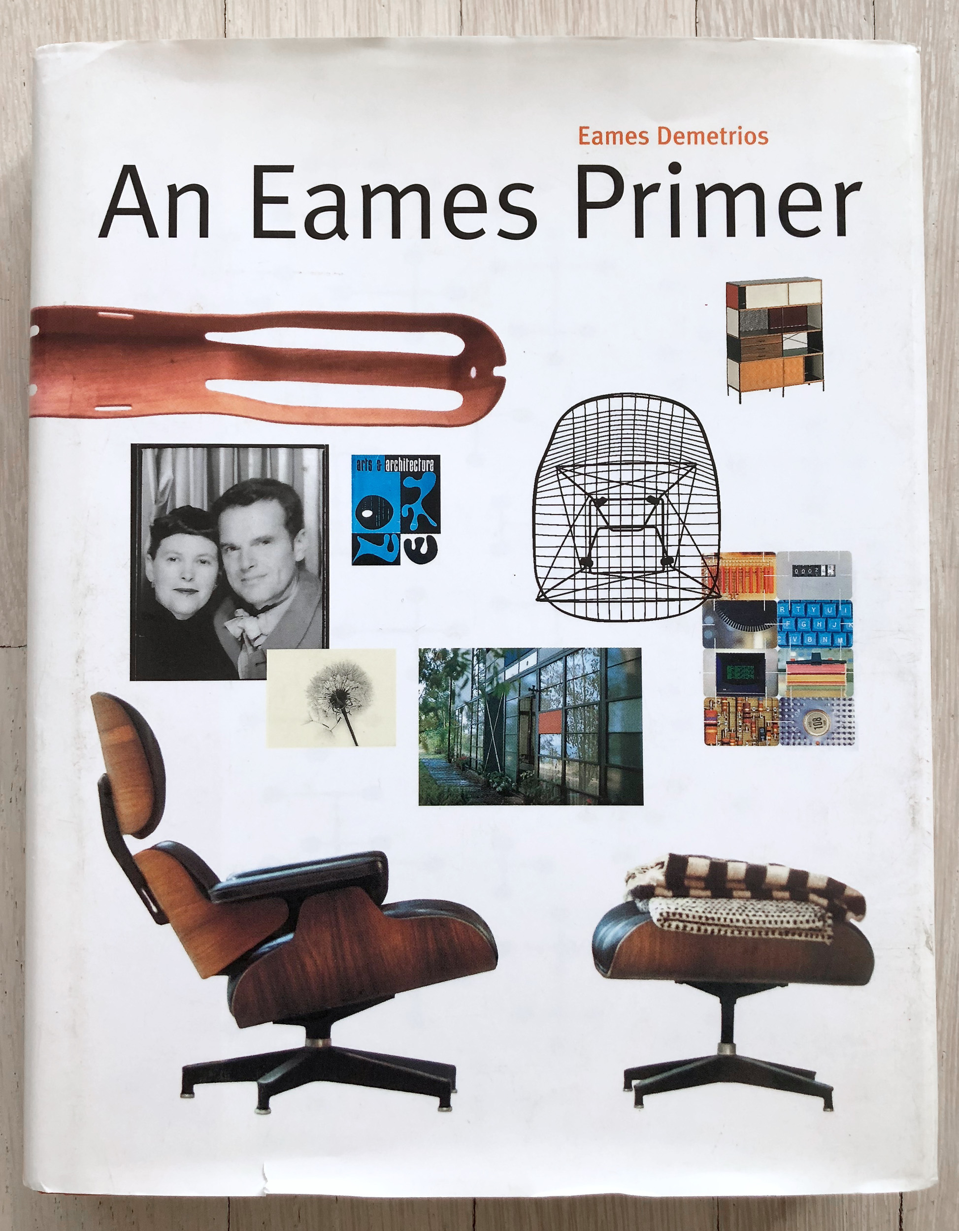 An Eames Primer  by Eames Demetrios. Editorial Concept Development by Richard Olsen. Ph.D, Graphic Design. Belinda Hellinger, Production Manager. Universe Publishing.