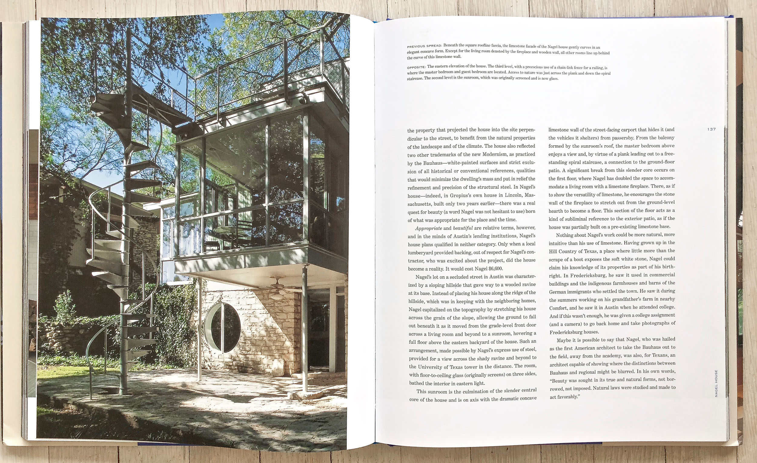 Great Houses of Texas  by Lisa Germany and Grant Mudford. Developed and Acquired by Richard Olsen. Edited by Andrea Danese. Darilyn Lowe Carnes, Graphic Design. Alison Gervais, Production Manager. Harry N. Abrams, Inc., Publishers.