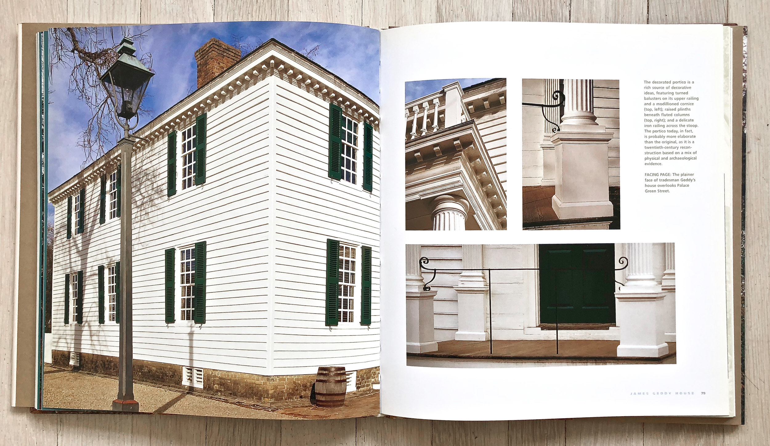 Colonial Houses  by Hugh Howard and Radek Kurzaj. Project Management and Editing by Richard Olsen, in Association with The Colonial Williamsburg Foundation. Ellen Nygaard Ford, Graphic Design. Harry N. Abrams, Inc., Publishers.