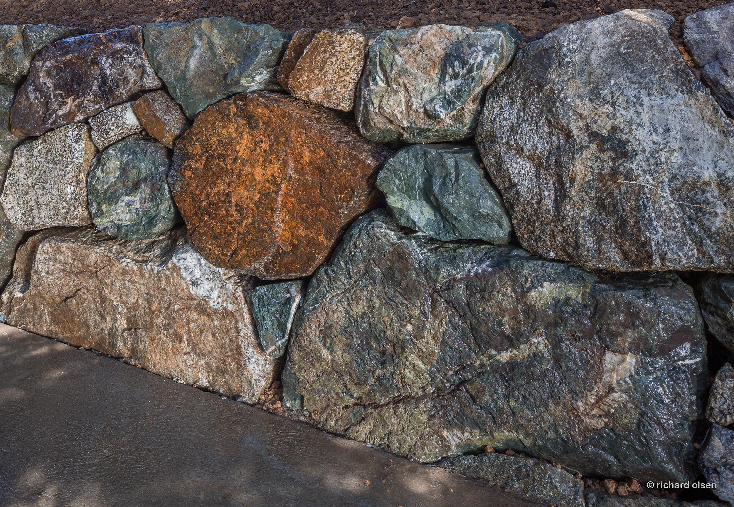 stonemasonry by ehren woyt. big sur, ca.
