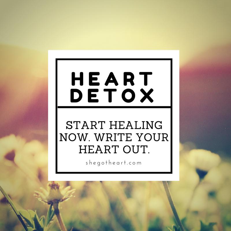 Heart Detox Worksheet