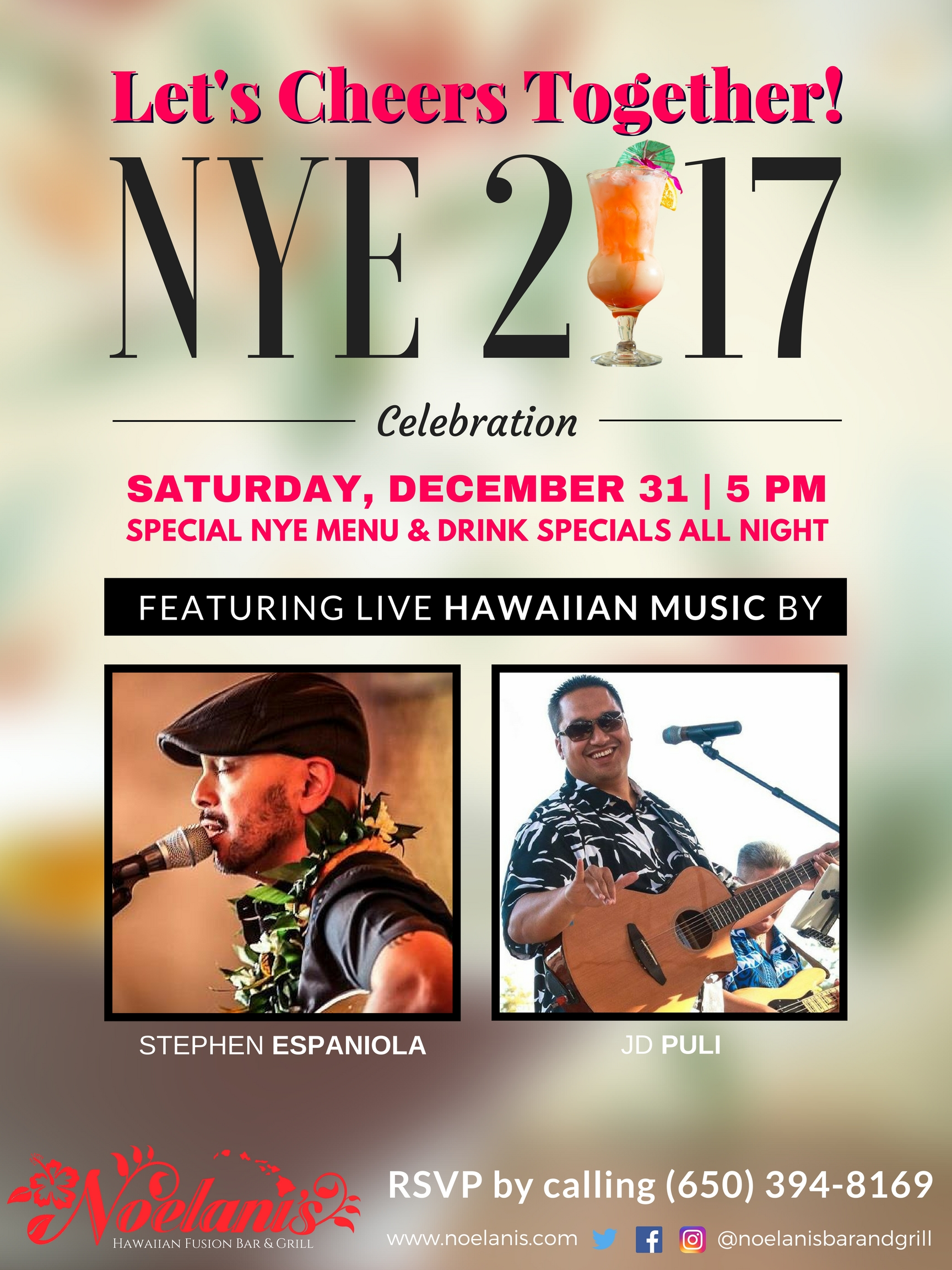 Noelani's 2017 New Year's Party