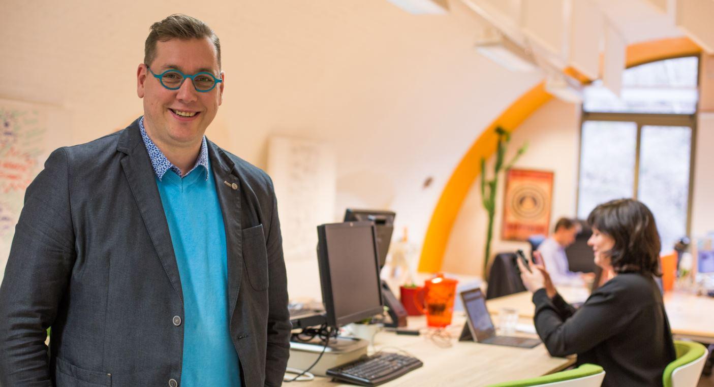 Bart Scheenaerts at Coworking het Bolwerk