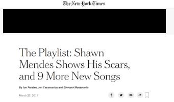 New York Times Playlist (2018)