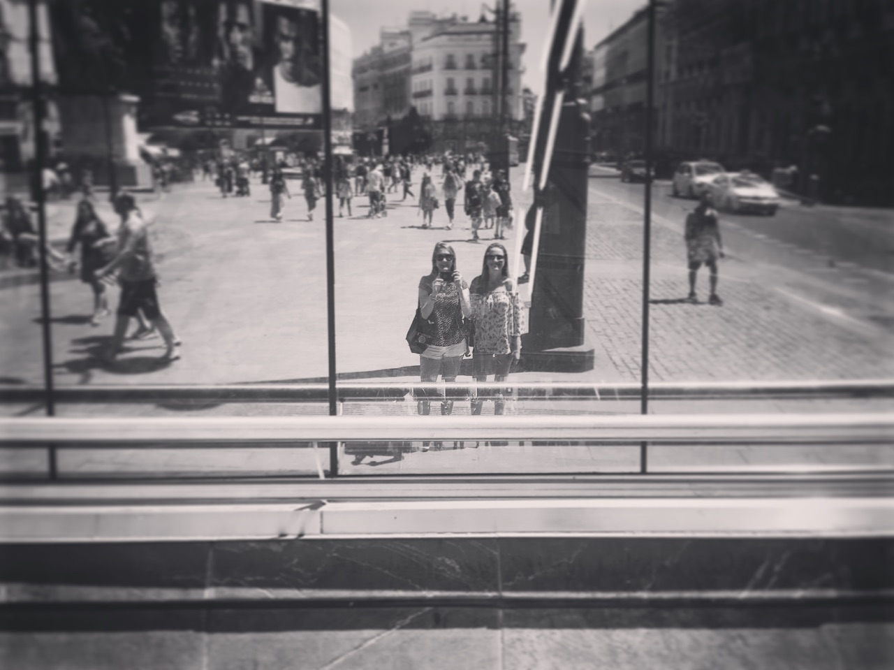 Puerta del Sol. Madrid. Agosto 2016.
