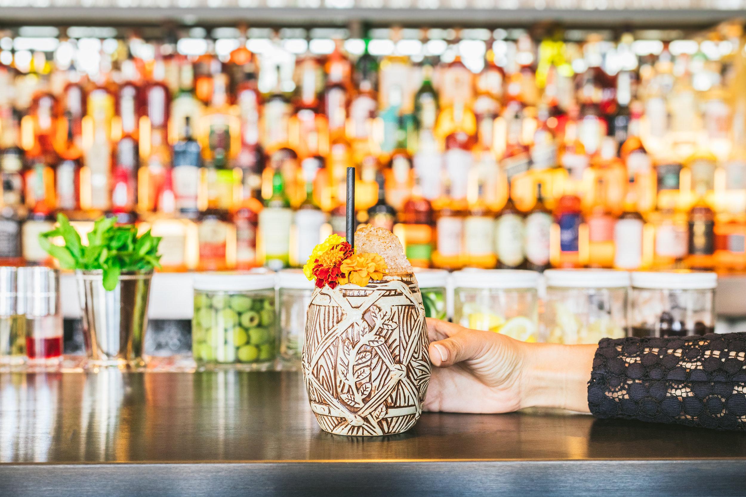 Bar +Beverage -