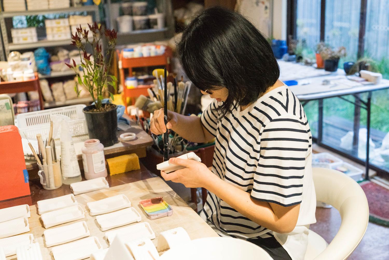 Lab KAJO studio - making ceramics