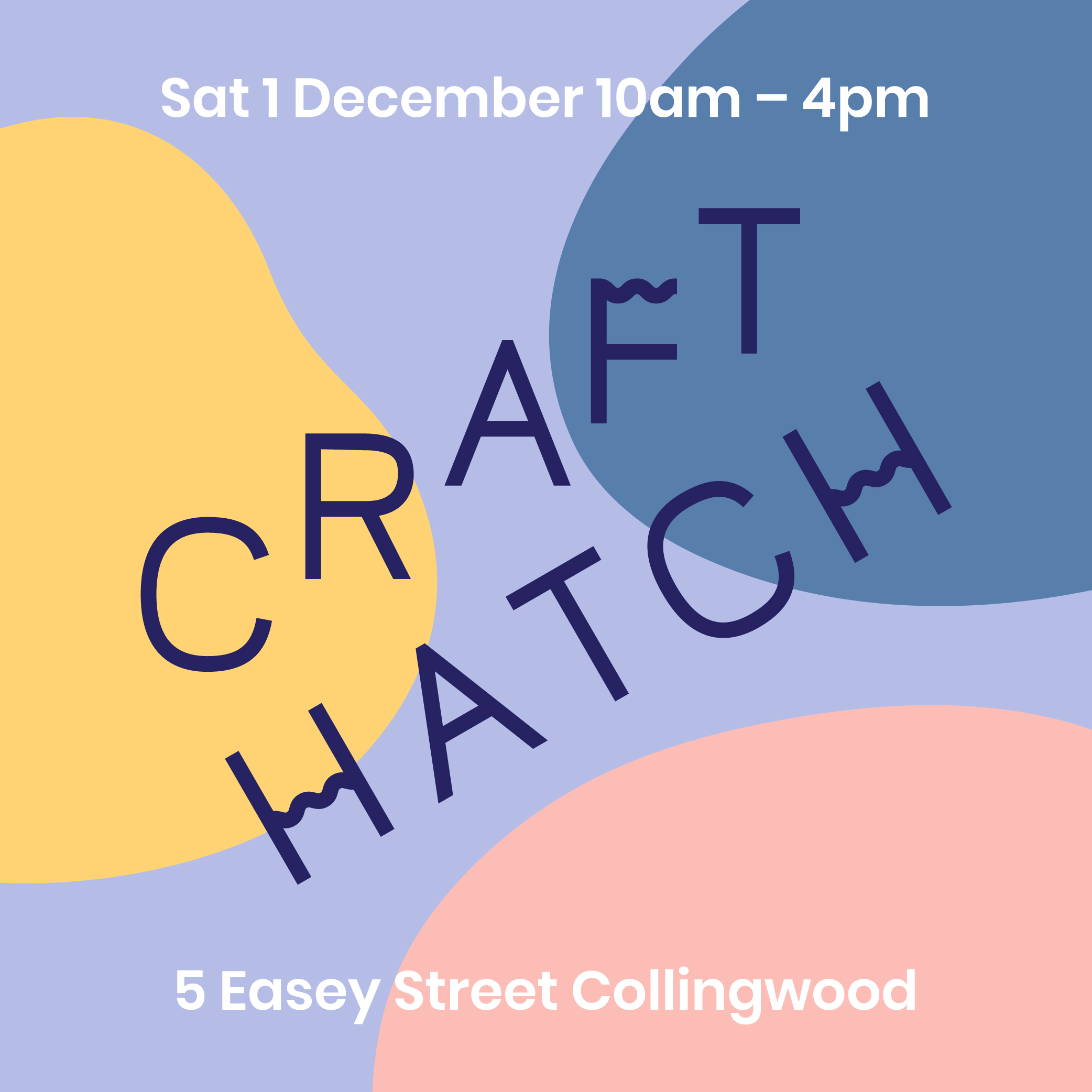 We are back to Craft Hatch Market this year! See you there!