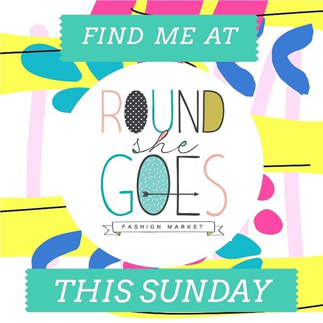 One more till this Sunday's @roundshegoes market😆 Make sure you mark the date down to visit us! We have a limited number of sale pieces and one-off experimental pieces and there will be a few new designs being revealed on the day! I will be there from 10am-3pm @coburgtownhall!~ entry is gold coin $2~ See you there!🤗