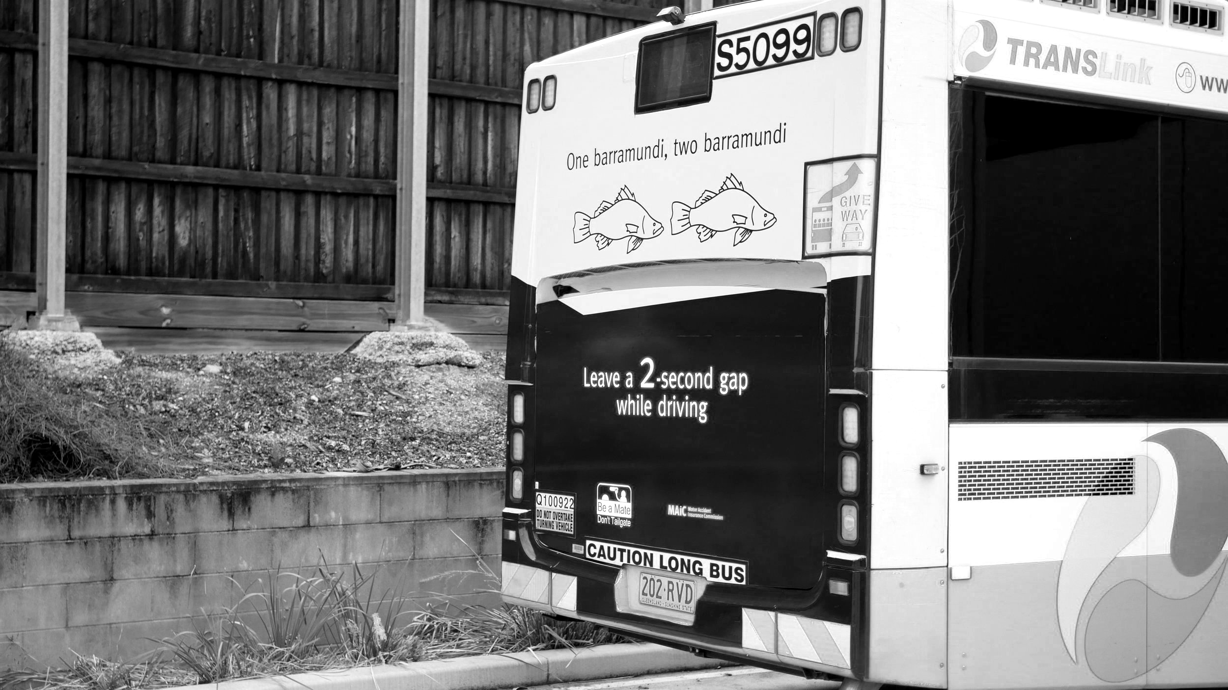 Bus Backs are one of the Be a Mate Dissemination mediums.