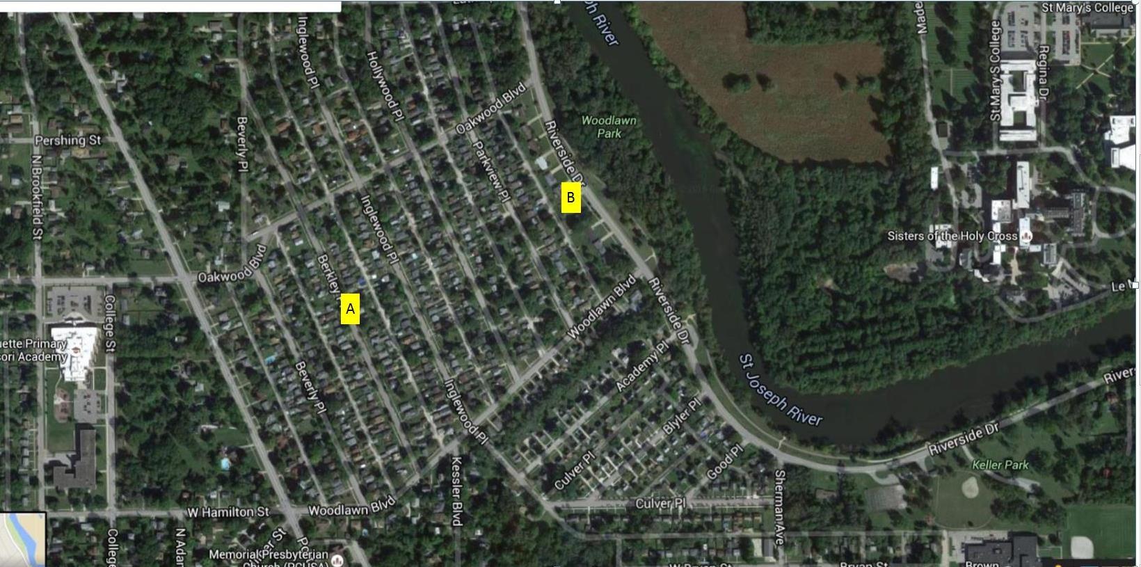 ( Image courtesy of Google maps )