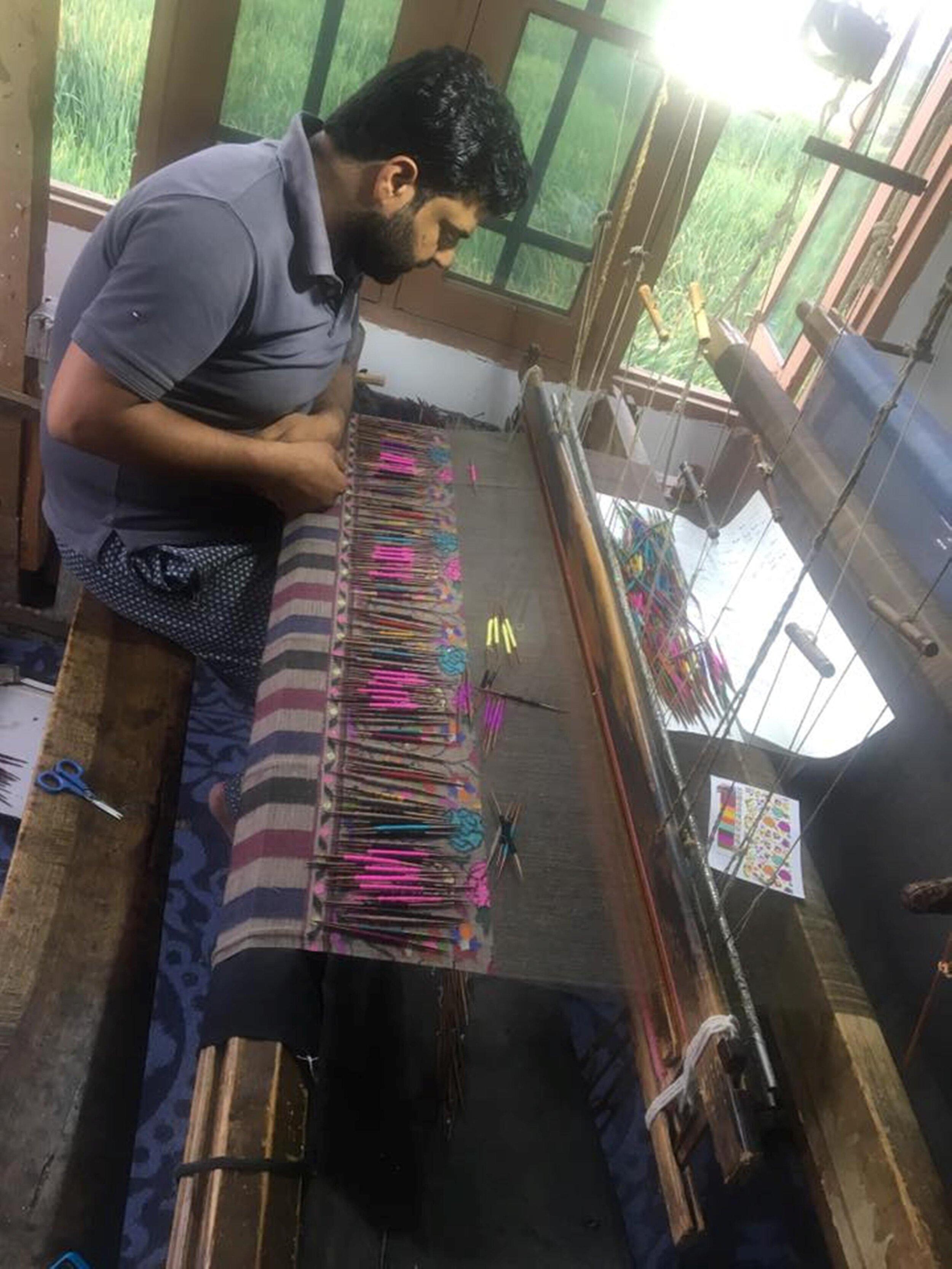 Making Kani Jamavar shawl.jpg