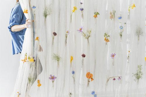 Draped Flowers