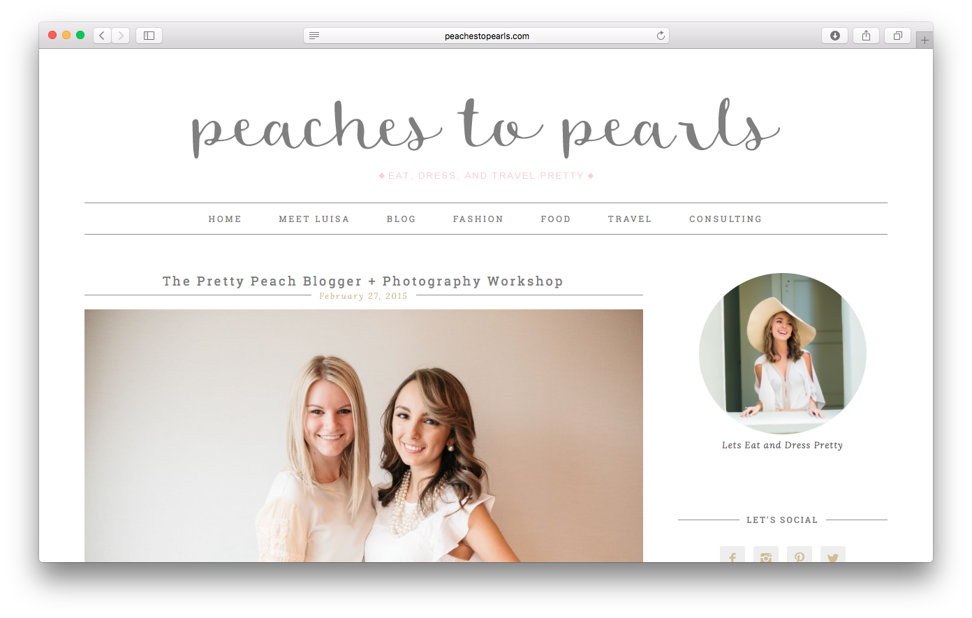 http://peachestopearls.com/the-pretty-peach-blogger-photography-workshop/