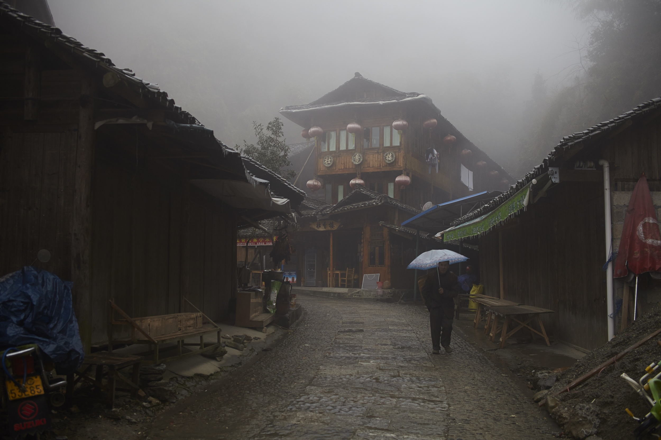 Rainy day in Guilin