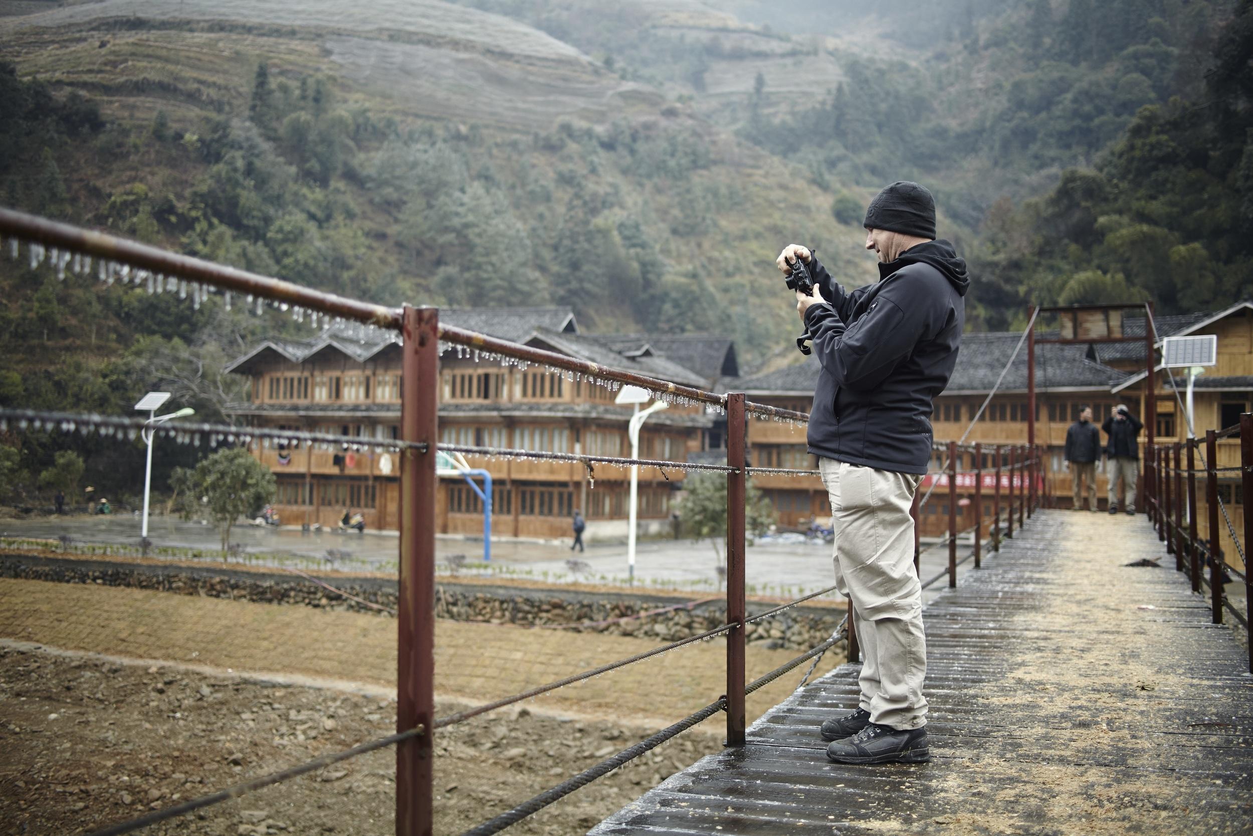 Euan Macleod taking photos