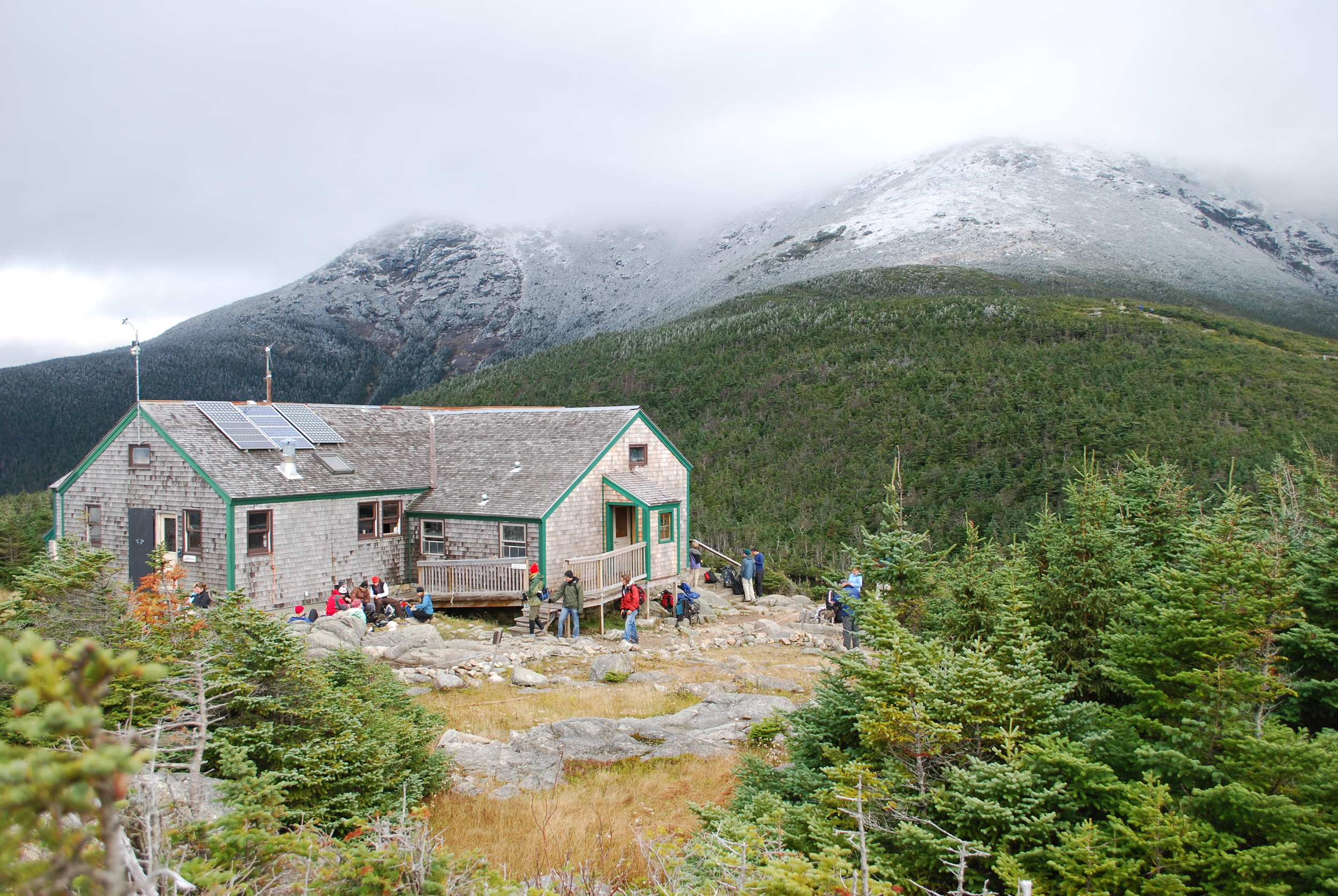 Greenleaf Hut, New Hampshire. Image by Jeff Edwards