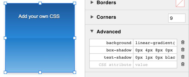 New in iRise 11 1: Rotate widgets, add custom CSS, embed