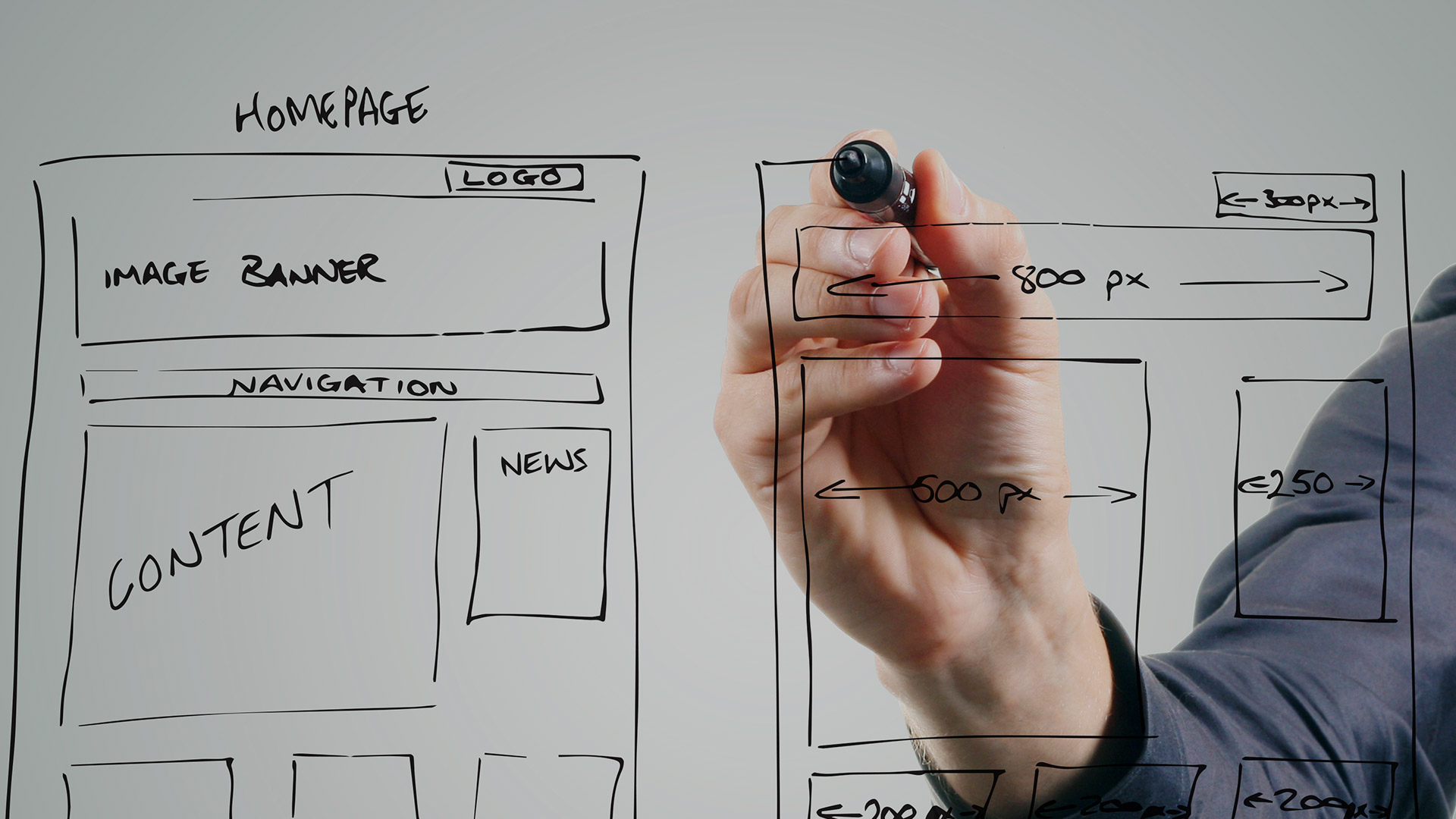 Don't be afraid to whiteboard early. There are creative ways you can use later to get those ideas in your wireframe tool.