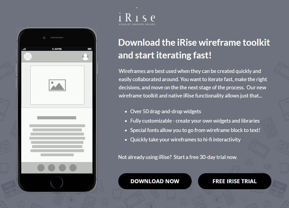Wireframe Tool Tips & Free Toolkit