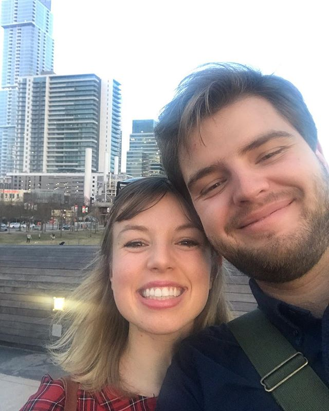 New fiancée new city! Excited for fun adventures in Austin 🙋🏼‍♂️🙋🏼‍♀️☕️🍫🏙