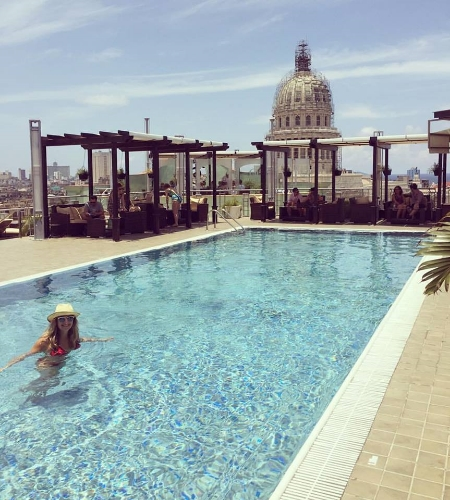 Saratoga Rooftop Pool
