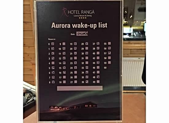 Aurora Wake-up Call