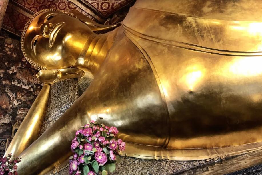 Wat Pho - Temple of the Reclining Buddha in Bangkok, Thailand