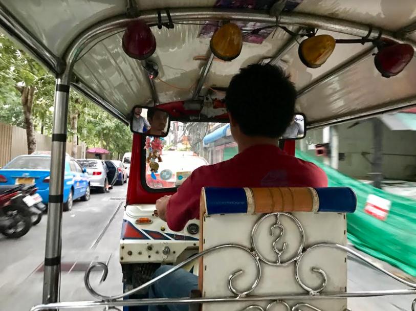 Tuk-tuk in Bangkok, Thailand