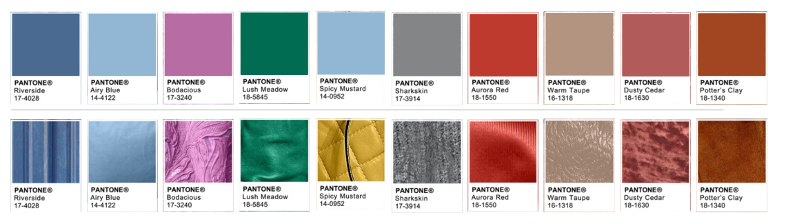 Image from  brandisea.wordpress.com , following the colours from  pantone.com