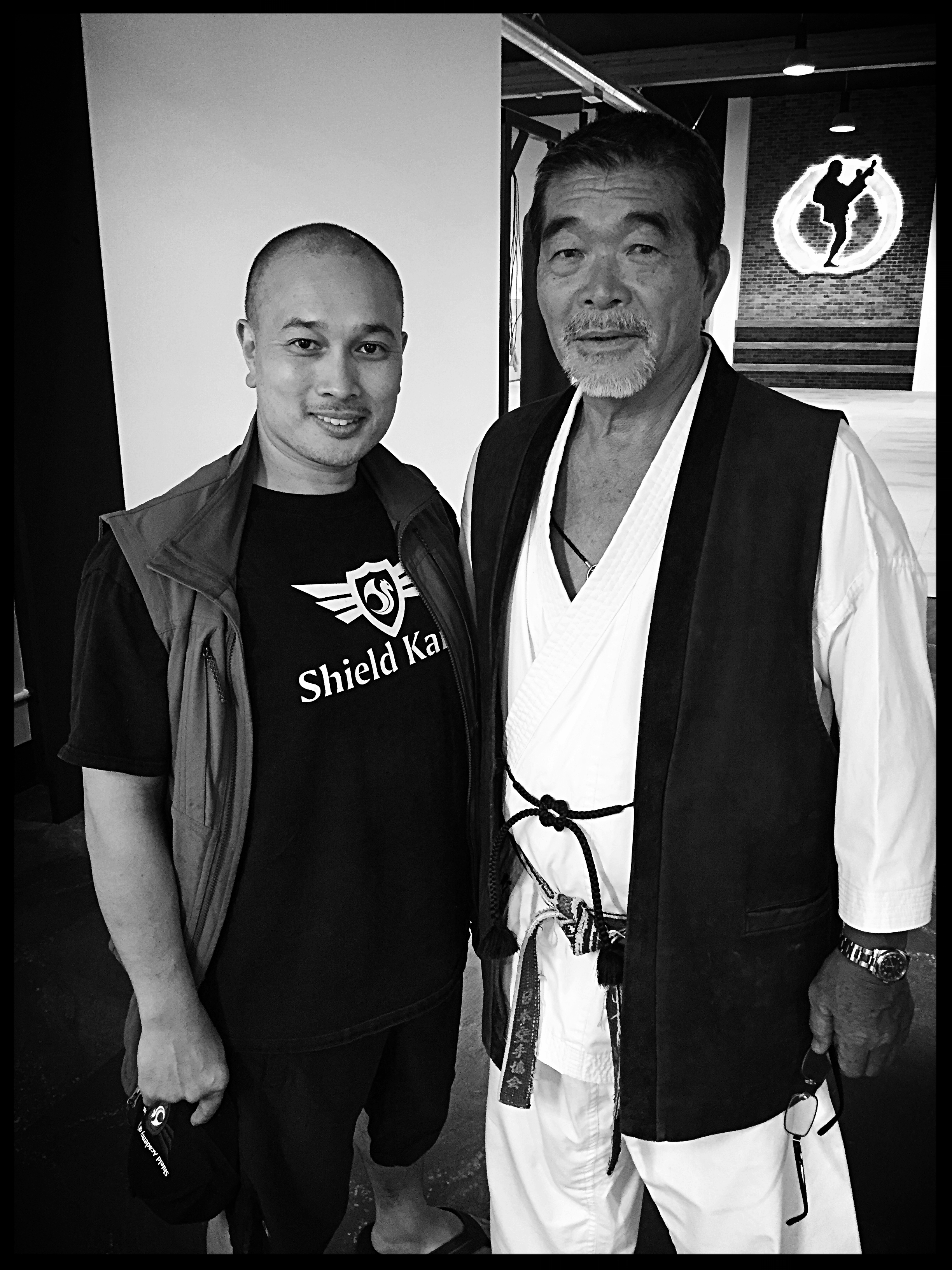 Sensei Alvin and Sensei Yoshizo Machida