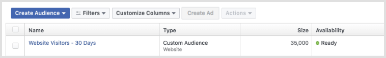 Facebook Audience Manager - List Sizes.png