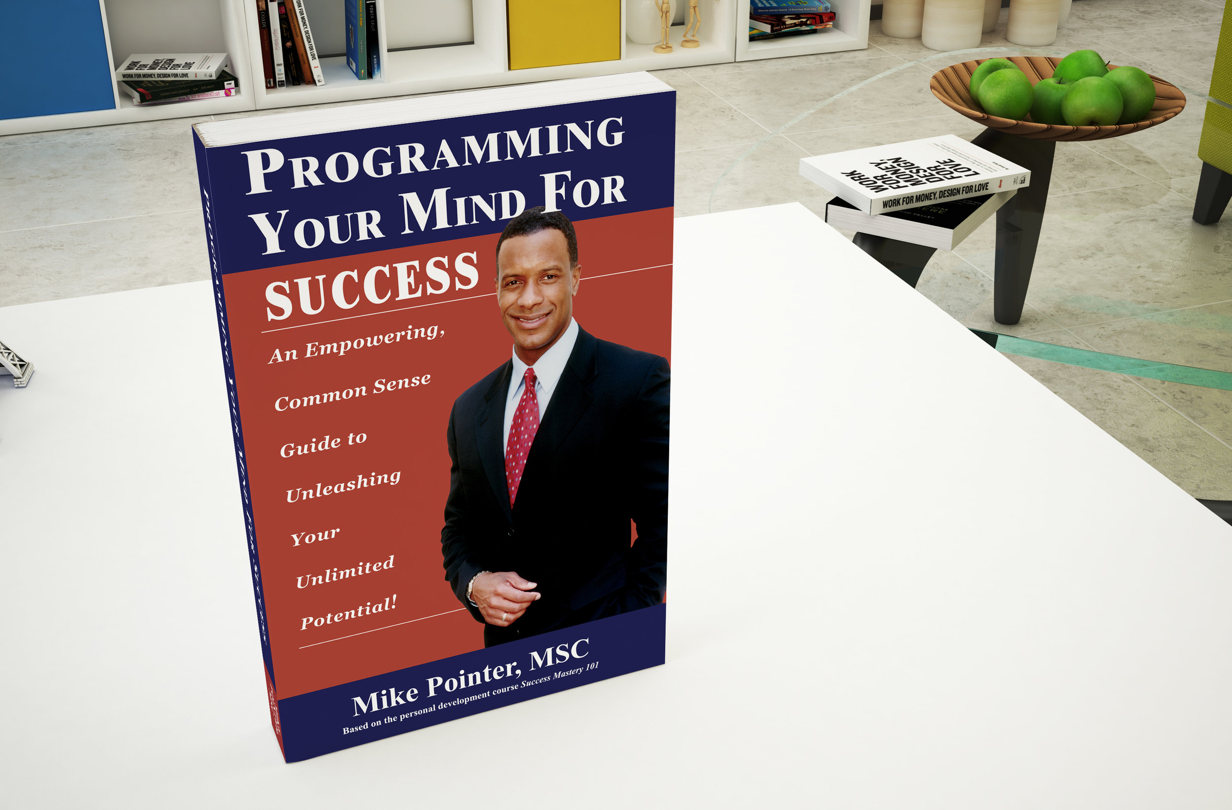 Realistic Book Mock-Up